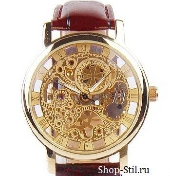 Мужские часы Breguet 3658 скелетон модель
