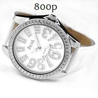 брендовые женски часы Prema с камнями